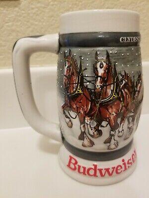 Budweiser Clydesdales 50th Anniversary Stein 1933-1983