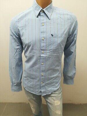 Camicia ABERCROMBIE & FITCH UOMO Taglia Size M Shirt Chemise Maglia Polo p5022 d'occasion  Expédié en Belgium