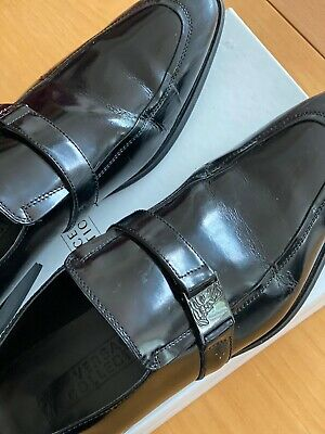 Mens Versace Collection loafers Size 41 ( UK 7) Black