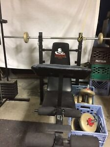 Exercise equipment.      Call.           514-234-0671
