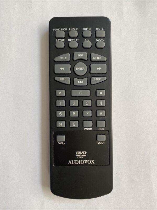 Audiovox 13651550 DVD Remote Control