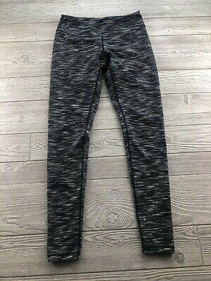 Zella Leggings Small S Black Gray Cosmic Space Dye Pants Yoga Workout Ankle