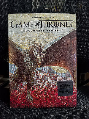 Game Of Thrones Dvd Bundle Set The Complete Seasons 1 6  Dvd  2016