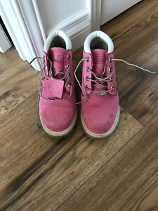 Girls Timberland Boots - Pink!!! $50 Barely Worn