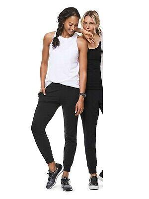ATHLETA WOMEN'S 777555 BLACK SOHO JOGGER PANTS $89.00  0