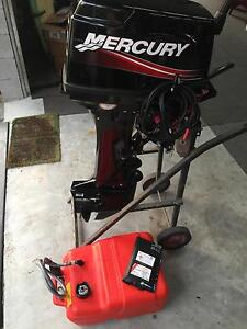 Mercury 30hp Electric Start Long Shaft tiller engine Nerang Gold Coast West Preview