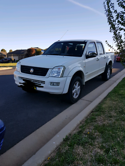 '05 Holden Rodeo Dual Cab 4X2
