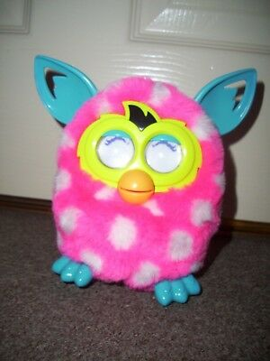 Furby Boom Pink with White Spots Hasbro Toys Interactive Pet