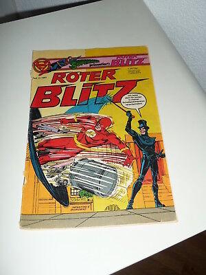 Comic Comicheft - Supermann präsentiert - Roter Blitz - Heft 11 /1981