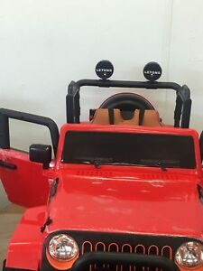 Rubber 4X4 Jeep Ride On Cars RC for Kids & Toddlers 647-640-0187
