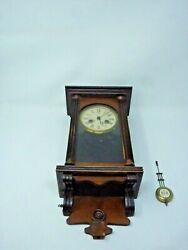 Junghan Regulator Wall Clock With Pendulum Works and Chimes