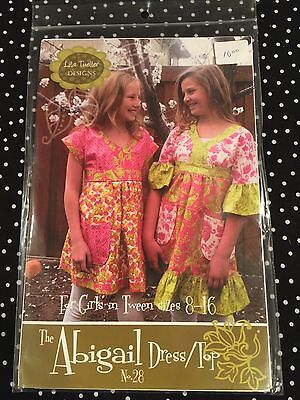 Lila Tueller Designs for tweens size 8-16 The Abigail - Tween Designer Dresses