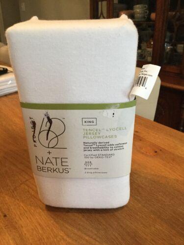 New Nate Berkus Project 62 King Tencel Lyocell Jersey Pillow
