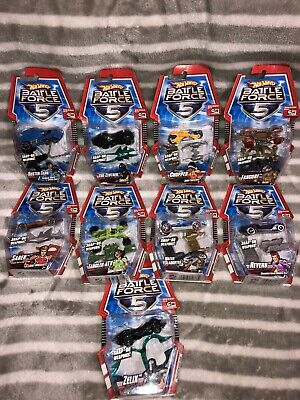 hot wheels battle force 5 collection