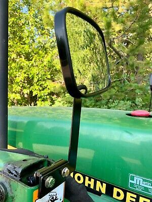 Tractor Mirror Mounts For Tractor Front End Loader Pair Wide Angle Mirrors