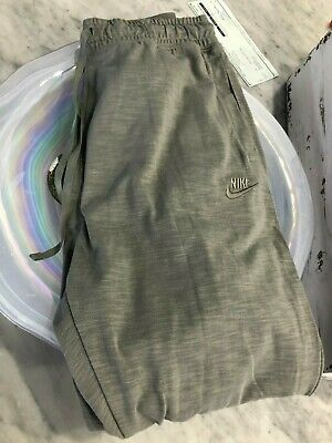 NIKE Mens Cotton Drawstring Sweat Pants  Front & Rear Pockets Tapered Leg XXL