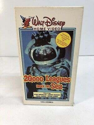 Walt Disney Home Video - 20,000 Leagues Under the Sea VHS