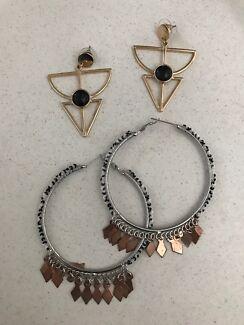 Sportsgirl & Basque earrings