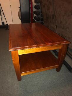 Sturdy Oak Coffee Table