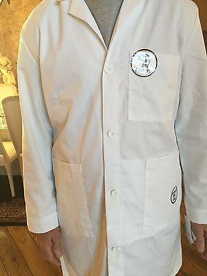 Men's Fine Twill Meta 1st Quality Lab Coat Length 40