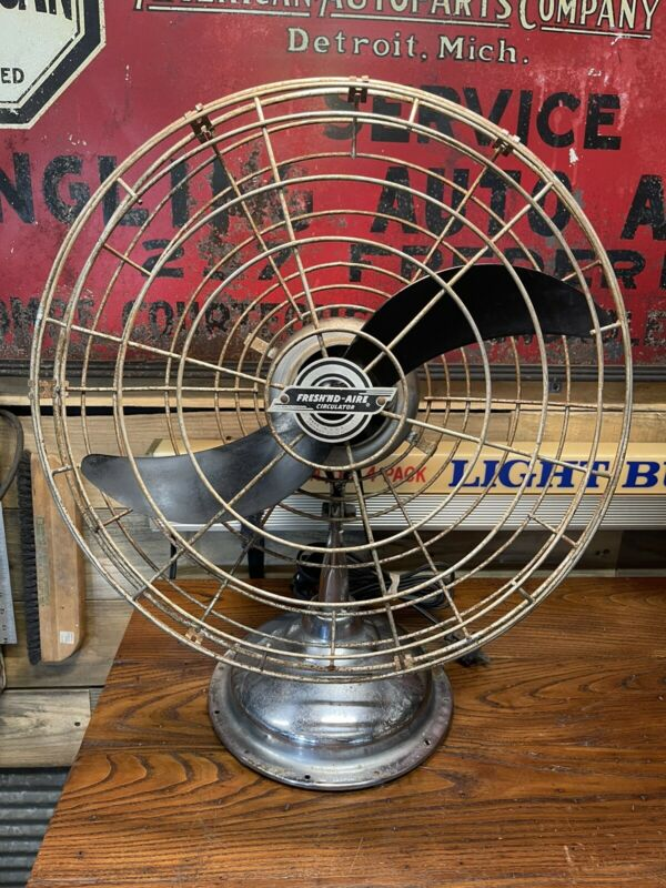Vintage Fresh Nd Aire Electric Fan Model 1700 Works