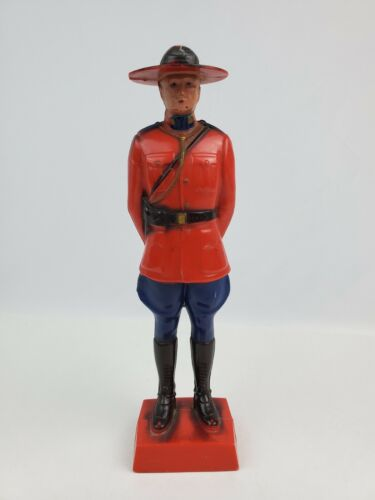 Vintage RCMP Royal Canadian Mounted Police Reliable Plastic Toy Figure Souvenir