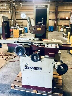 Chevalier Surface Grinder Model Fsg-612 1998 2hp 6x12 Inch Sn A3871027