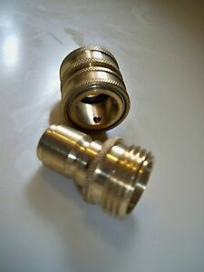 Brass Quick Disconnect Mro Amp Industrial Supply Ebay