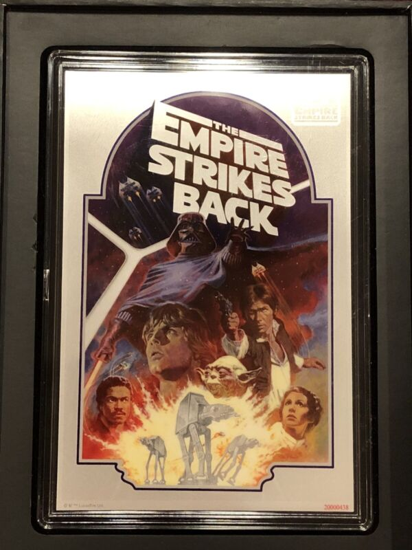 2020 STAR WARS: EMPIRE STRIKES BACK 40TH ANNIVERSARY SILVER COIN & NOTE SET