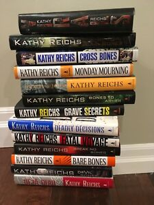 Kathy Reich's Hardcover Books