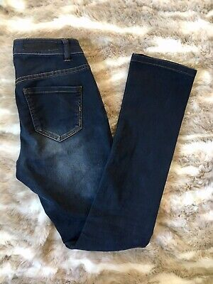 Dark Straight Leg Jeans - Liverpool Womens Jeans Sadie Straight Leg Dark Wash Stretch Size 0