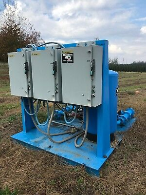 Commercial Irrigation Pump Station 264 Gpm Independently Controlled Pumps Drip
