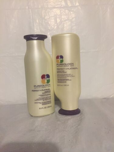 Pureology Perfect 4 Platinum Shampoo and Conditioner 8.5 oz
