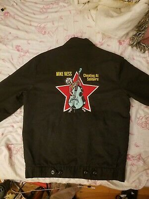 Social Distortion  Mike Ness 1999 Cheating at solitaire Dickies Tour jacket