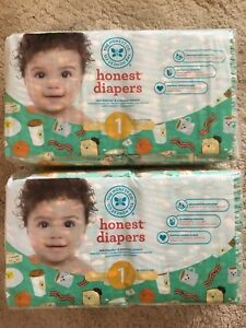 Honest Co. Diapers - Size 1