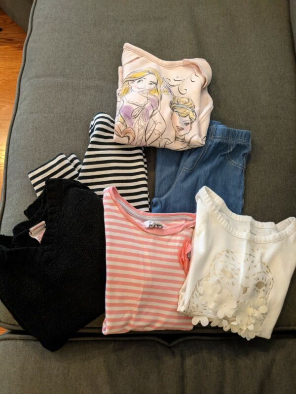 Lot of 6 pieces girl's size 4/5 clothes