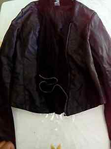 Like New Womens Leather Jacket Size 14 Mount Druitt Blacktown Area Preview