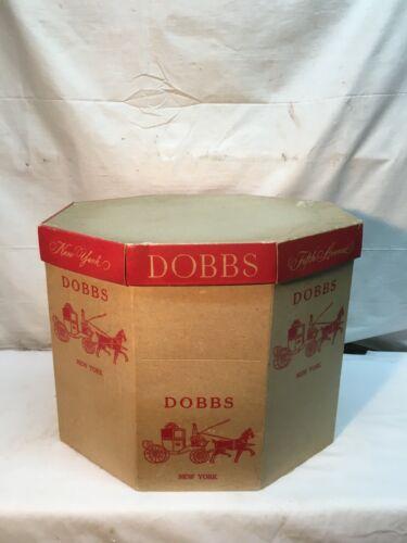 Vintage Dobbs Fifth Avenue 3pc Hat Box New York Decorative Decor