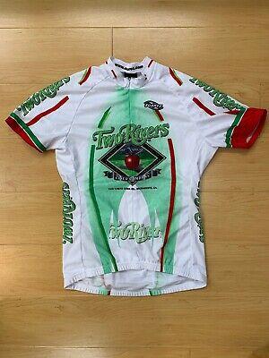 aed14b645 Two Rivers Cider Sacramento CA Suarez Womens Short Sleeve Cycling Jersey  Medium