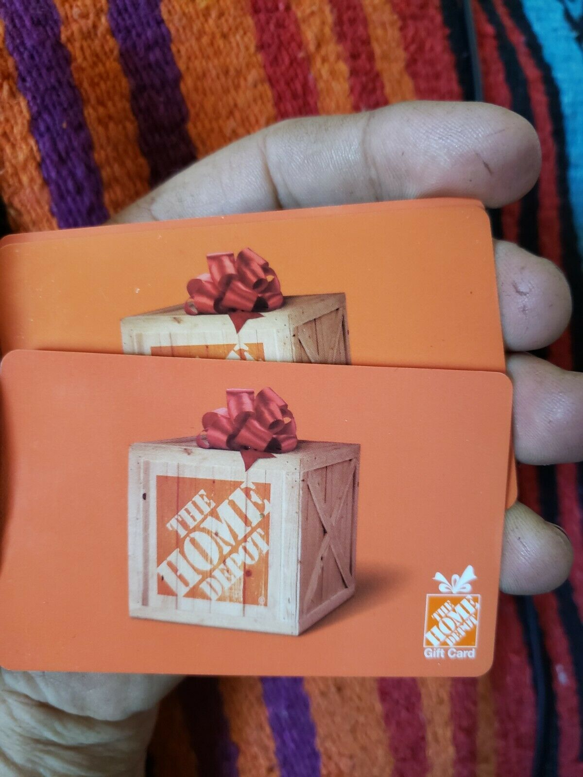50 Home Depot Gift Card - Fast Shipping 2- 25 Cards  - $50.00