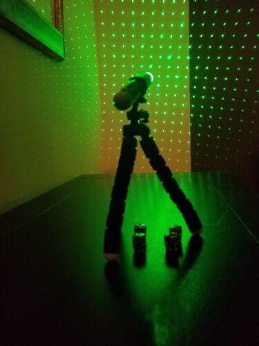 Ghost Hunting Paranormal Kit Green 6n1 LASER GRID PEN + HOLDER +FLEXIBLE TRIPOD