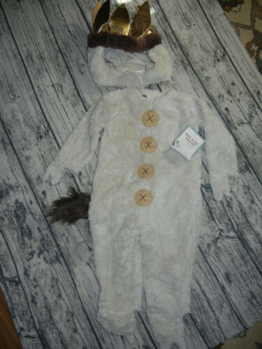 Pottery Barn Kids Where The Wild Things Are Max Halloween Costume 3T NEW