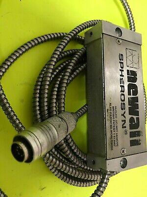 Milling Machine Part - Newall Spherosyn Reader Head Old Style Round Plug Used