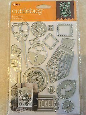Cricut Cuttlebug Cut   Emboss Die Set   Lost And Found  New