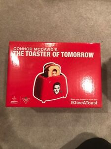 Connor McDavid Toaster - brand new $20