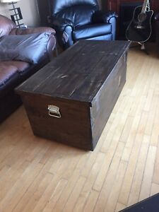 Hand made coffee table/ storage chest!!