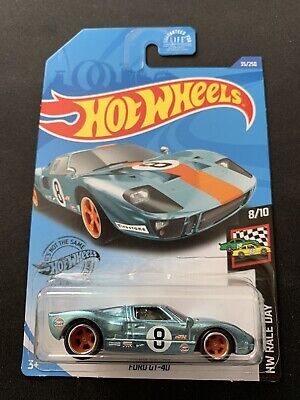 2020 HOT WHEELS NEW FORD GT-40 GULF SUPER TREASURE HUNT W/PROTECTOR