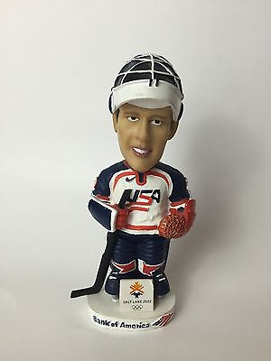 Usa Ice Hockey Team Bobble Head 2002 Salt Lake City Winter Olympics Bank America