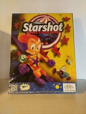 2B3E STARSHOT space circus fever PC cd rom INFOGRAMES 99 italiano BIG BOX sealed