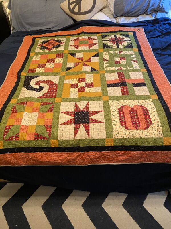 Quilt Throw hand made new